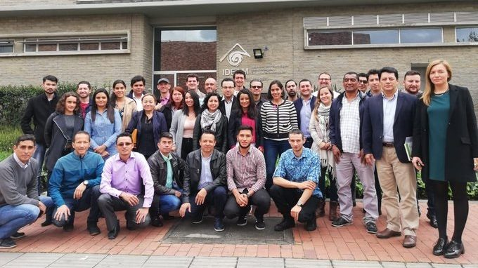 Participants SAR workshop at IDEAM, Bogota