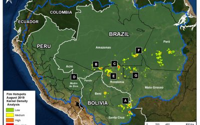 Conservación Amazónica issues MAAP reports: SEEING THE AMAZON FIRES WITH SATELLITES