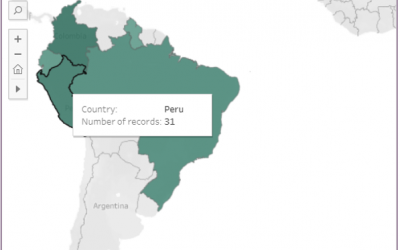 SERVIR-Amazonia launches online monitoring dashboard
