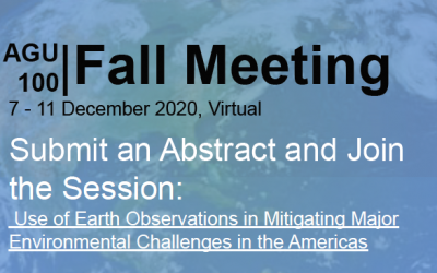 SERVIR to host session at AGU Fall 7-11 December 2020: Submit your abstract