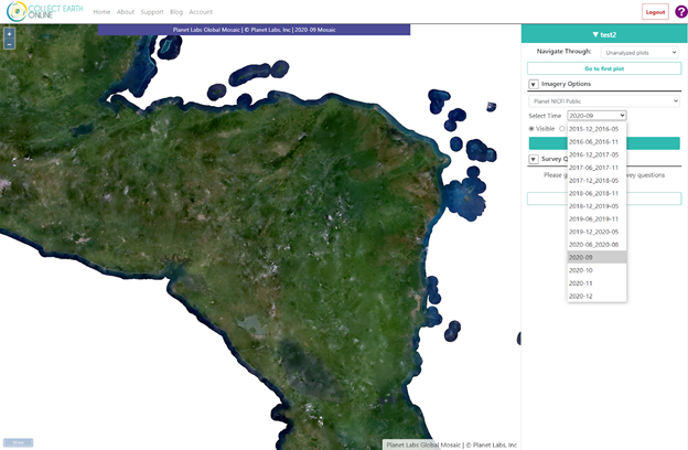 New features on Collect Earth Online: Project editing, basemaps from Planet and more